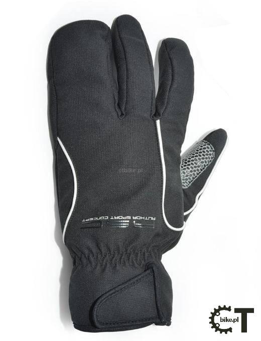 5886f85c87781d AUTHOR ARCTIC zimowe rękawiczki rowerowe z membraną wiatroszczelną czarne.  Producent: Author