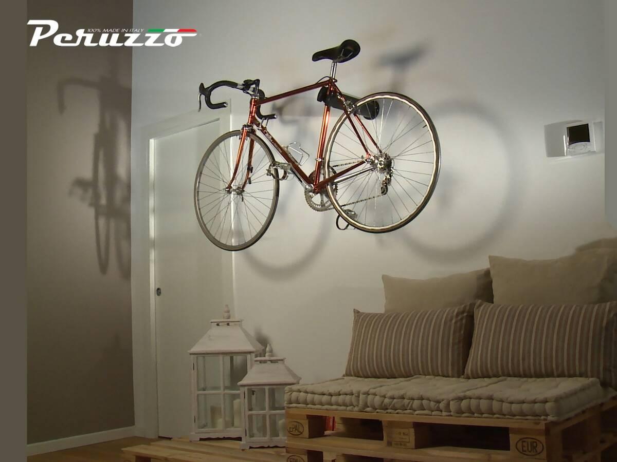 Inne rodzaje PERUZZO COOL BIKE ścienny wieszak rowerowy biały - Internetowy CW96
