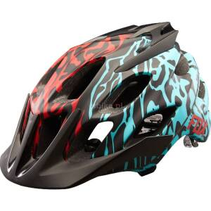 FOX Flux Cauz Kask rowerowy MTB Ice Blue Roz. L/XL
