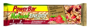 POWERBAR Baton Cereal Natural Energy truskaw-żuraw.  40g
