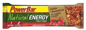 POWERBAR Baton Cereal Natural Energy żurawinowy 40g