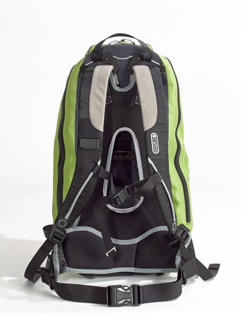 3e653dea27492 ORTLIEB FLIGHT LIME-BLACK plecak 27l wodoodporny czarno-zielony. Producent:  Ortlieb